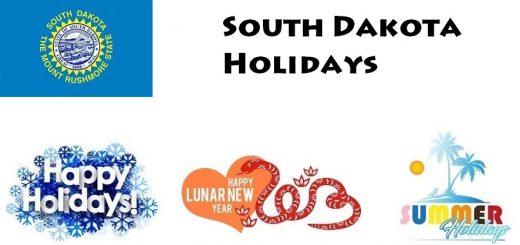 Holidays in South Dakota
