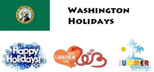 Holidays in Washington