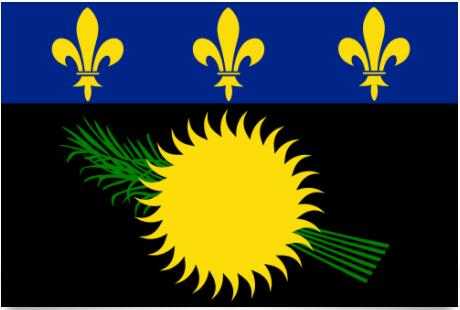 Flag of Guadeloupe