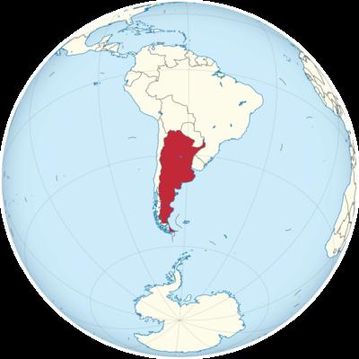 Argentina Location Map