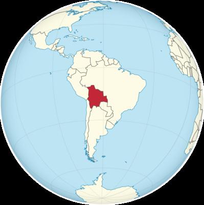 Bolivia Location Map