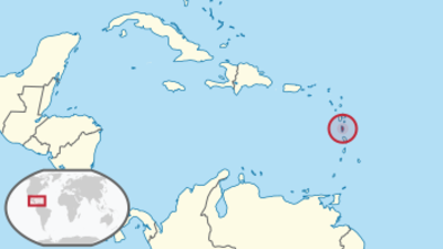 Dominica Location Map