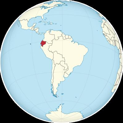 Ecuador Location Map