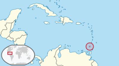 Grenada Location Map