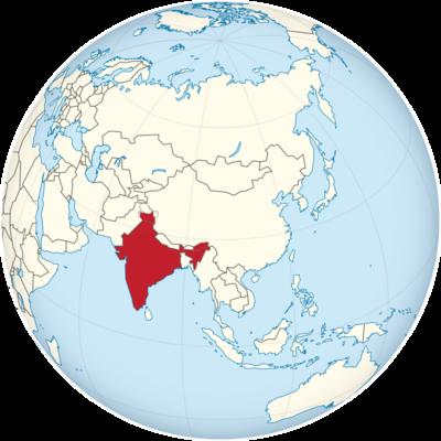 India Location Map