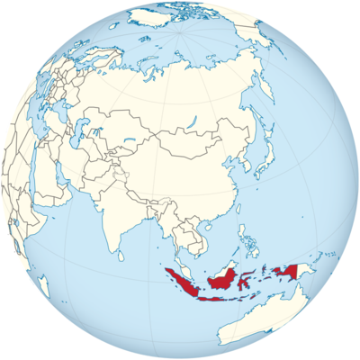 Indonesia Location Map