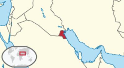 Kuwait Location Map