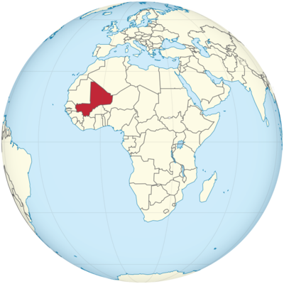 Mali Location Map