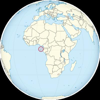 Sao Tome and Principe Location Map