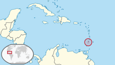 St Vincent and the Grenadines Location Map
