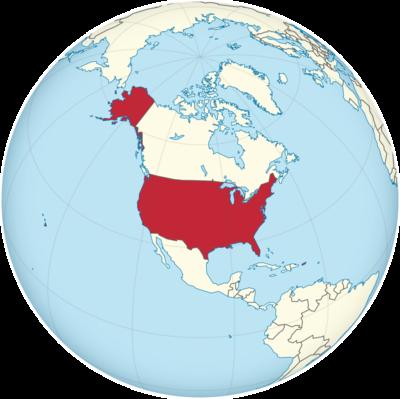 United States Location Map